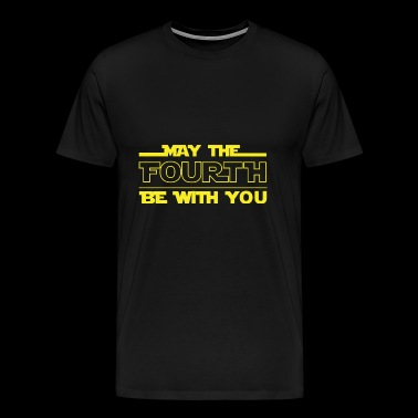 May The Fourth Be with you tshirt - Men's Premium T-Shirt