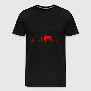 GIFT - PIANO RED - Men's Premium T-Shirt