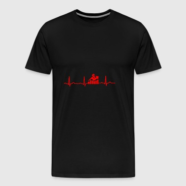 GIFT - STOCK MARKET RED - Men's Premium T-Shirt