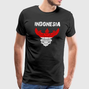 Nation-Shirt Indonesia Garuda EN f0Xb - Men's Premium T-Shirt