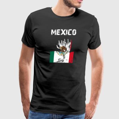Nation-Design Mexico Saguaro - Men's Premium T-Shirt