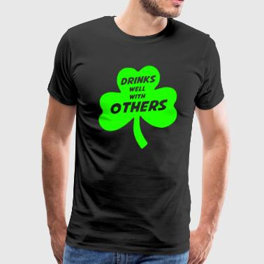 Drink Well With Others - Men's Premium T-Shirt