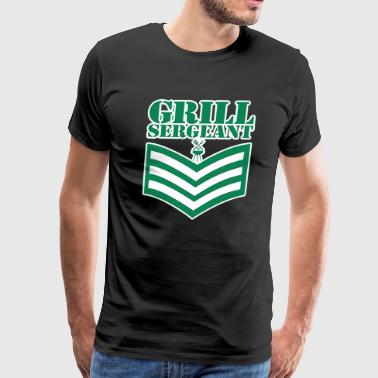 Grill Sergeant UK Army - Men's Premium T-Shirt