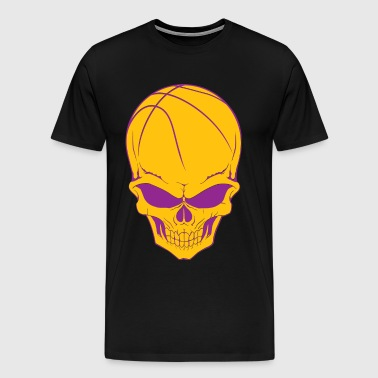Basketball Skull - Men's Premium T-Shirt