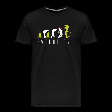 Evolution of Alien - Men's Premium T-Shirt