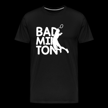 Badminton - Men's Premium T-Shirt