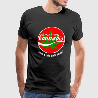 Enjoy Cannabis - Men's Premium T-Shirt