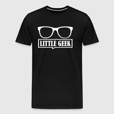 Matching Father Son Little Geek - Men's Premium T-Shirt