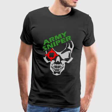 Army Sniper - Men's Premium T-Shirt