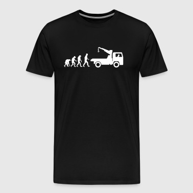 service car evolution - Men's Premium T-Shirt