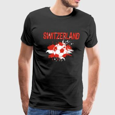 Switzerland Soccer Shirt Fan Football Gift Funny - Men's Premium T-Shirt
