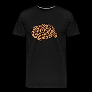 layerfMRI copper layers - Men's Premium T-Shirt