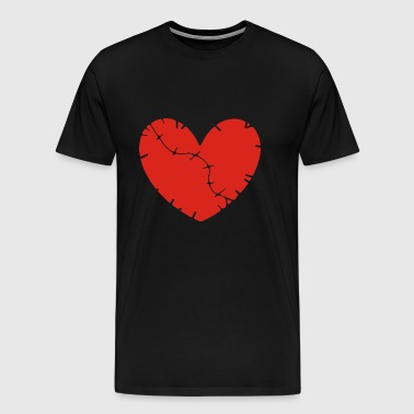 heart breaks - Men's Premium T-Shirt