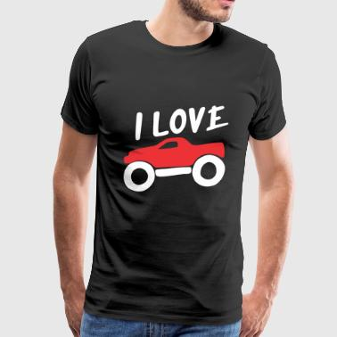 I Love Big Car - Men's Premium T-Shirt