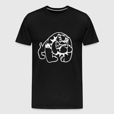 Angry Bulldog - Men's Premium T-Shirt