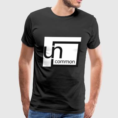 Uncommon logo BW - Men's Premium T-Shirt