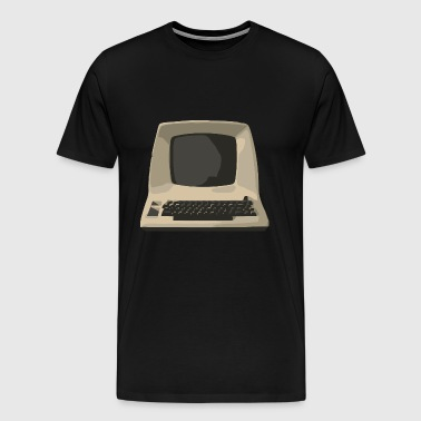 old computer - Men's Premium T-Shirt