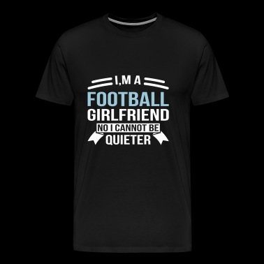 Football Girlfriend - Men's Premium T-Shirt