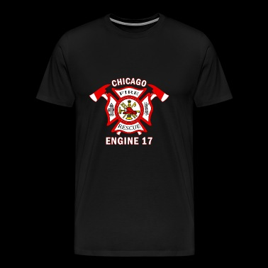 FIRE RESCUE CHICAGO - Men's Premium T-Shirt