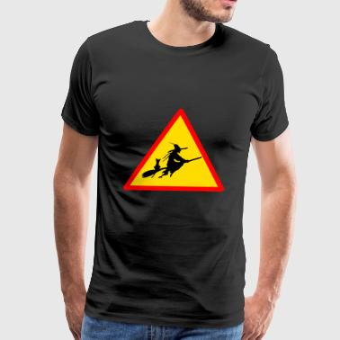 Witch Witches Crossing Walpurgis Night Halloween - Men's Premium T-Shirt