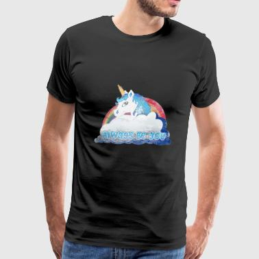 Central Intelligence Unicorn - Men's Premium T-Shirt