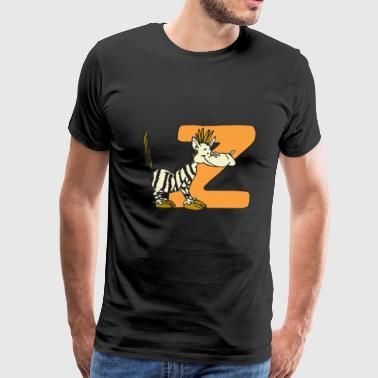 Big Z-zebra - Men's Premium T-Shirt