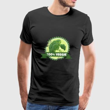 Broccoli Veggie Vegetable - Men's Premium T-Shirt