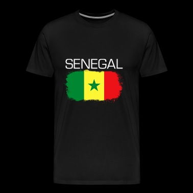 Football Soccer Senegal Fan Flag Gift - Men's Premium T-Shirt