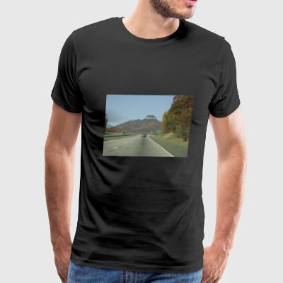 Pilot Mountain, NC - Men's Premium T-Shirt