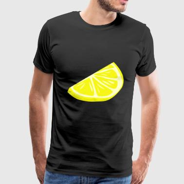 Sour makes fun! Delicious lemon - Men's Premium T-Shirt