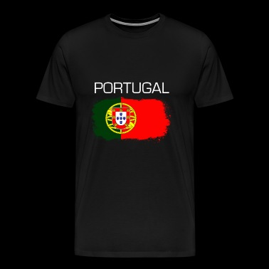 Football Soccer Portugal Fan Flag Gift - Men's Premium T-Shirt