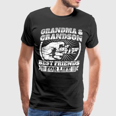Grandma Grandson Friend Grandparent Child Kids Tee - Men's Premium T-Shirt