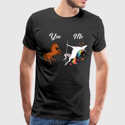 Unicorn You and Me - Men's Premium T-Shirt