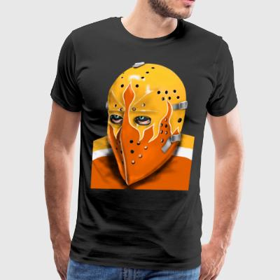 Philadelphia Vintage Ice Hockey Goalie Mask - Men's Premium T-Shirt