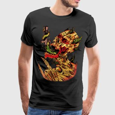 Satanic - Men's Premium T-Shirt