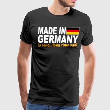 Made in Germany a long long time ago - Men's Premium T-Shirt