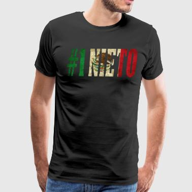 Nieto Gift Mexican Shirt For Mexican Flag T Shirt for Mexican Pride Vintage - Men's Premium T-Shirt