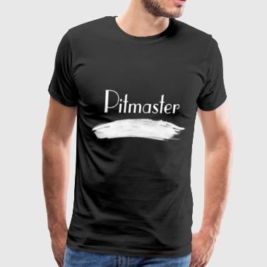 Funny Barbecue Shirt Pitmaster - Men's Premium T-Shirt