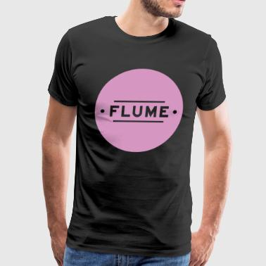Flume Purple Circle - Men's Premium T-Shirt