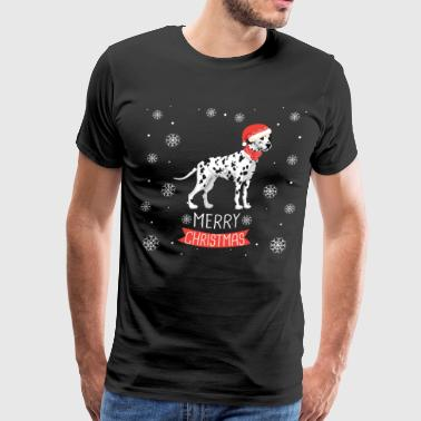 Best Christmas Day Ever With My Dalmatian - Men's Premium T-Shirt