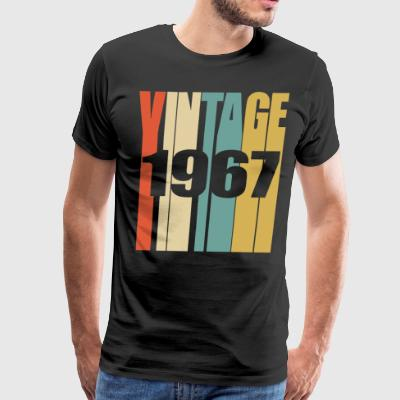 Retro Vintage 1967 - Men's Premium T-Shirt