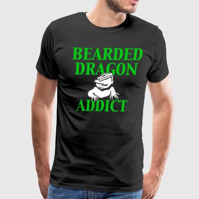 Bearded Dragon Addict - Men's Premium T-Shirt