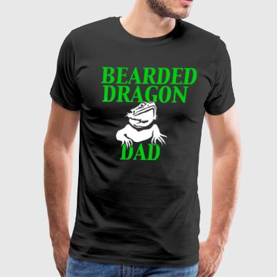 Bearded Dragon Dad - Men's Premium T-Shirt