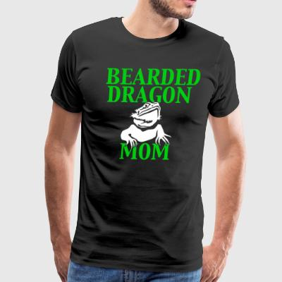 Bearded Dragon Mom - Men's Premium T-Shirt