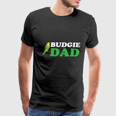 Budgie Dad - Men's Premium T-Shirt