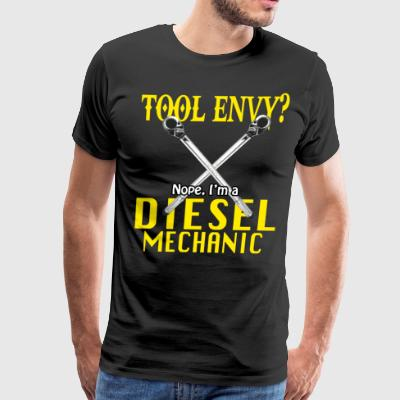 Funny Diesel Mechanic Shirt Tool Envy? - Men's Premium T-Shirt