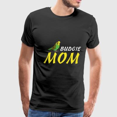 Budgie Mom - Men's Premium T-Shirt