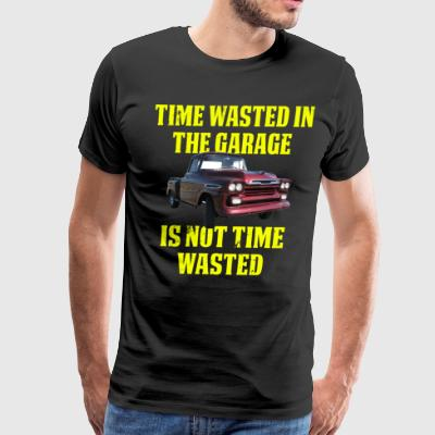 Time Waste In The Garage Car 2 - Men's Premium T-Shirt