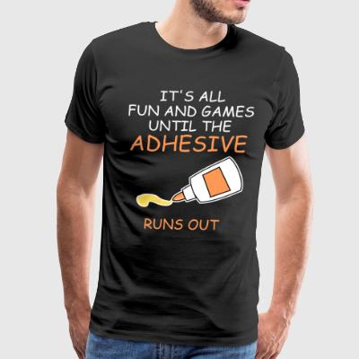Funny Scrapbooking Shirt All Fun and Games - Men's Premium T-Shirt