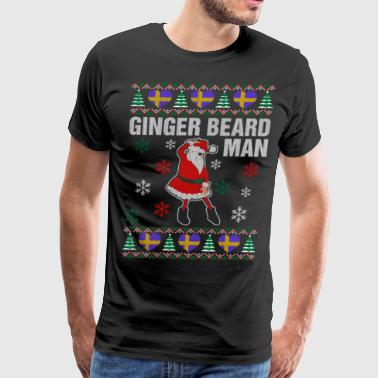Ginger Beard Swedish Man - Men's Premium T-Shirt